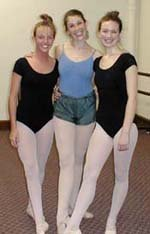 Adhali and ballet students