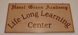 Life Long Learning sign.